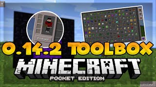 0.14.2 NEW TOOLBOX UPDATE! - Too Many Items Mod - Minecraft PE (Pocket Edition)