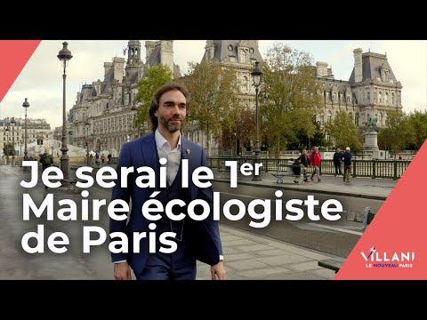 Cédric Villani - Le Nouveau Paris - Clip de campagne