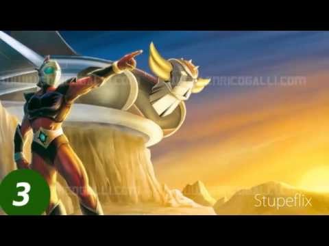 grendizer intro song (electric guitar)