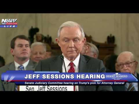 FNN: Protesters Scream During Jeff Sessions Senate Hearing