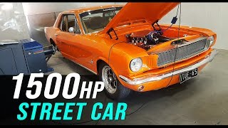 1500hp twin turbo Ford Mustang | ITUF65 returns!