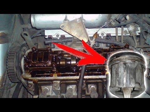 Промывать двигатель так, ОПАСНО! Запускаем без масла.