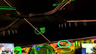 Elite Dangerous with DK 2 and SteamVR