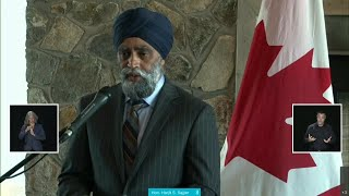 Defence Minister Harjit Sajjan responds to military justice system review – June 1, 2021