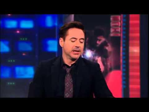"Robert Downey Junior says ""I love Chuck Missler"""