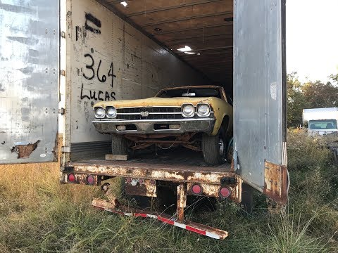 Tractor Trailer Salvage Yard Found Hiding A MEGA MUSCLE CAR STASH!!!