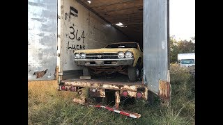 Download Tractor Trailer Salvage Yard Found Hiding A MEGA MUSCLE CAR STASH!!! Mp3 and Videos