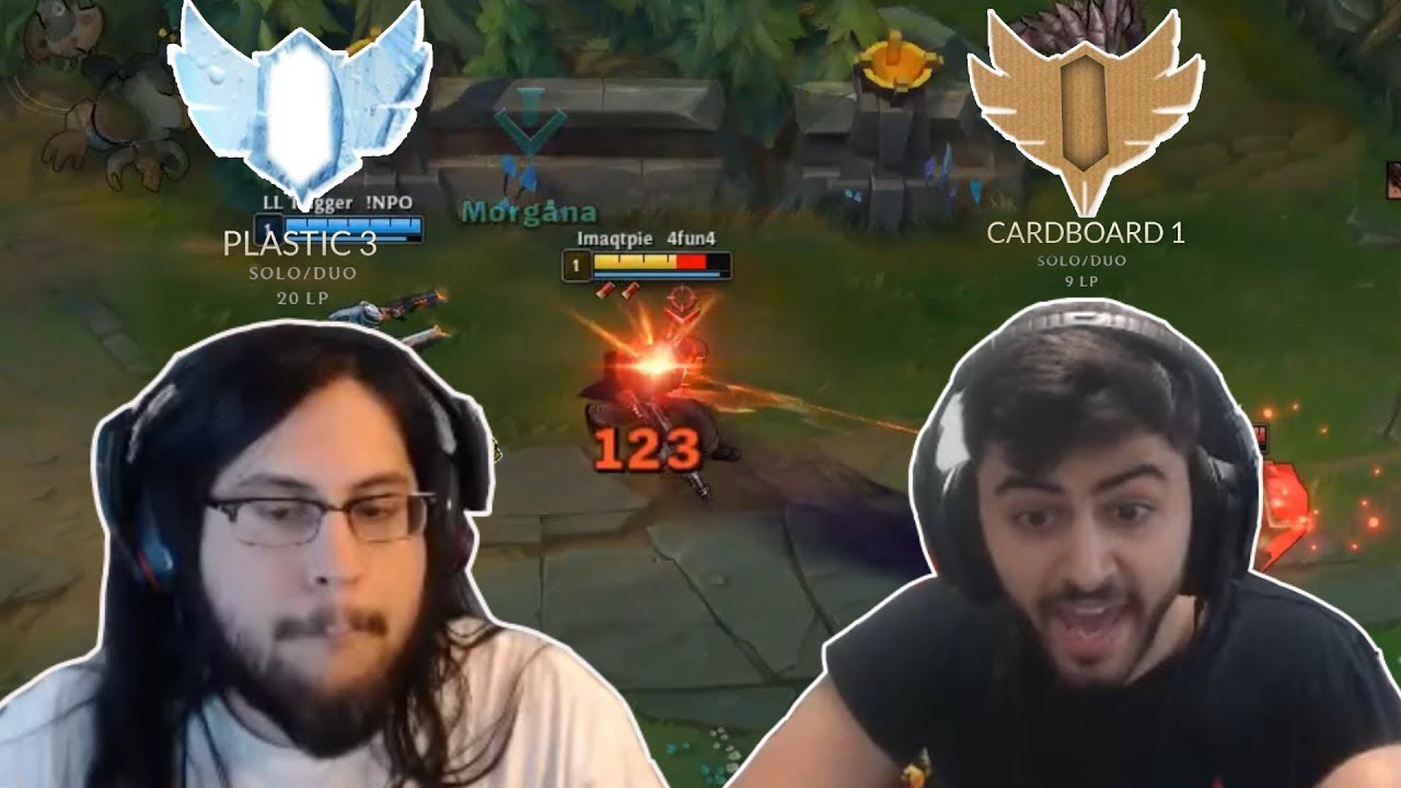 """When Riot need """"Plastic, Cardboard"""" divisions for Imaqtpie and Yassuo 