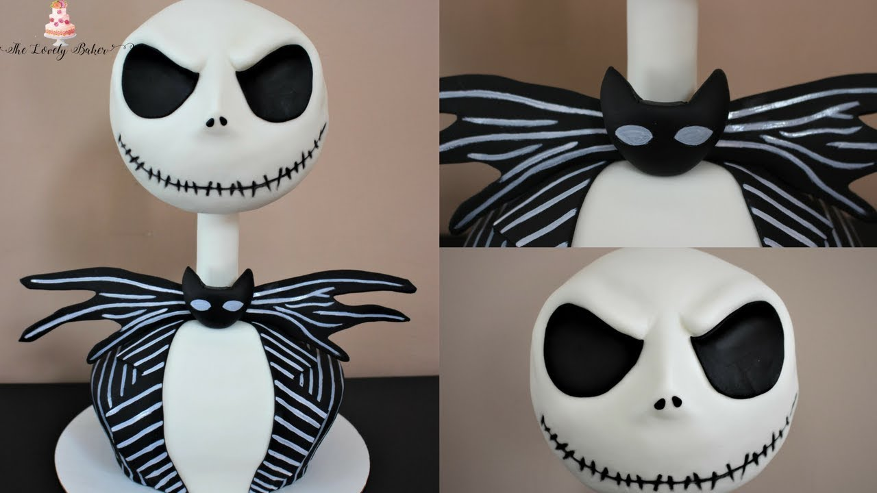 3D Jack Skellington Cake The Nightmare Before Christmas Halloween ...