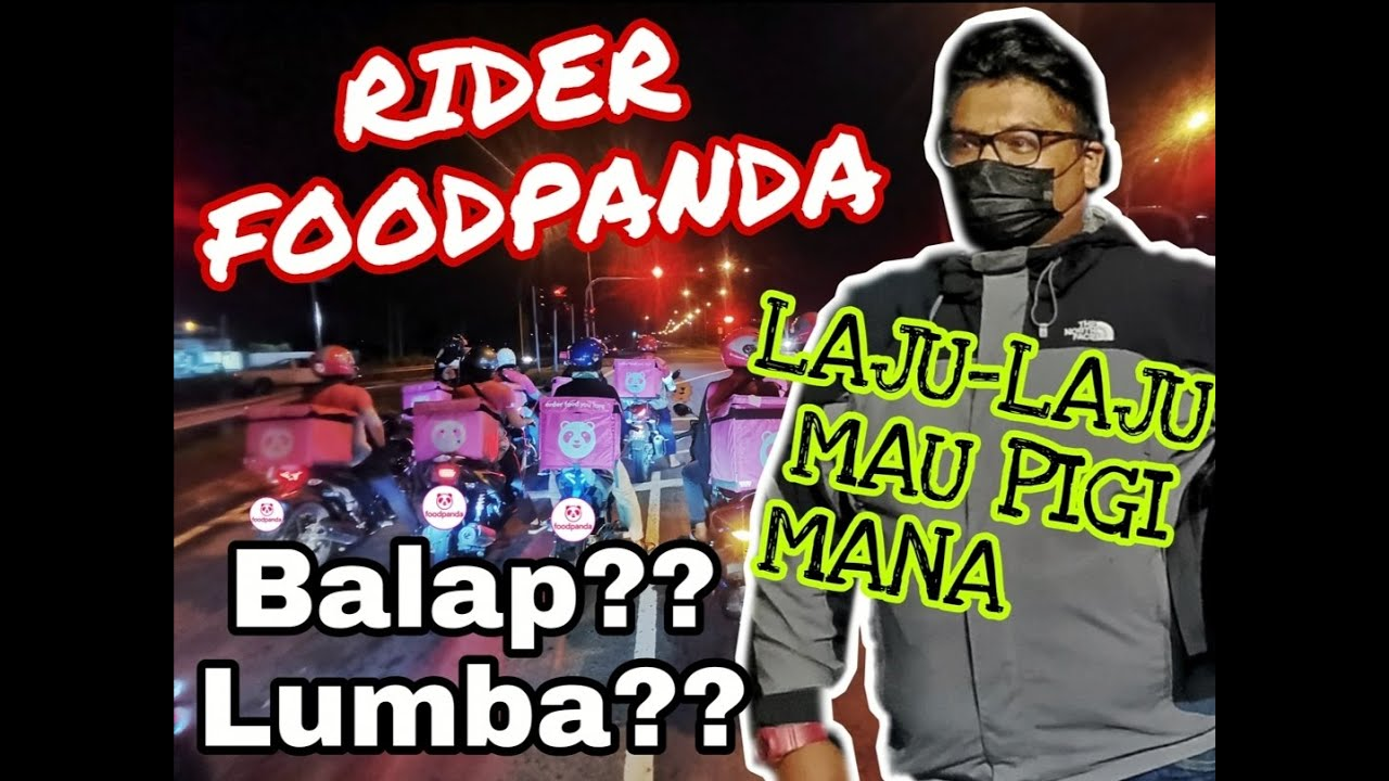 Download Rider Foodpanda Lahad Datu Mencabar A.S.M Ikut Sekali Lumba?? Balap?? Mau Kemana??