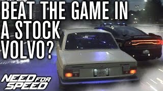 Can You Beat Need for Speed 2015 in A Stock Volvo?