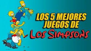 TOP 5: Juegos de Los Simpsons I Fedelobo