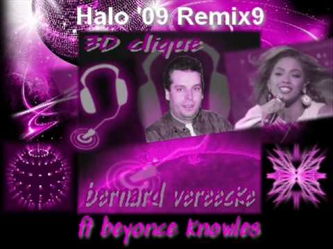 Halo '09 Remix9 - Bernard Vereecke Ft Beyonce Knowles ( Clip Son Hd Stereo )