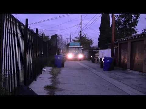 Los Angeles Bureau of Sanitation - Condor 884 in the Morning (Mid City)