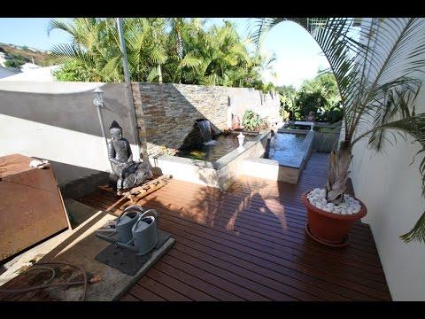 Triple bassin a koi la r union avec koi zen youtube - Jardin zen avec bassin ...