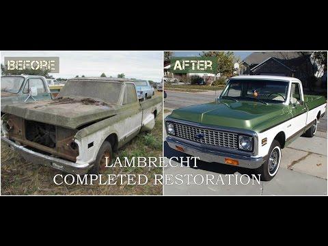 Lambrecht Field of Dreams 1972 Chevy Restoration - Part Three (THE LAST VIDEO)