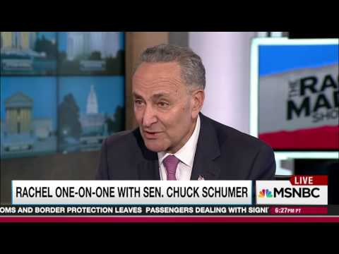 Chuck Schumer Admits That Intelligence Community Is Full Of Vindictive Thugs