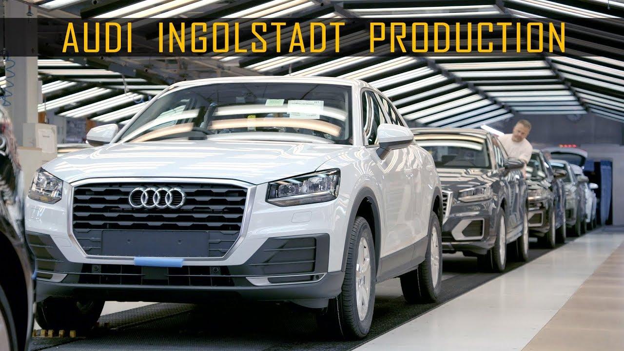 Audi Ingolstadt Production Plant Youtube