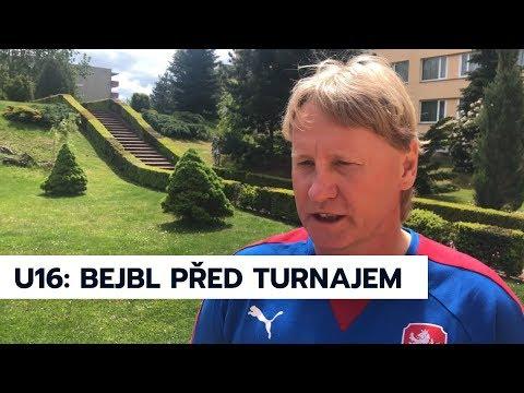 U16 | Trenér Radek Bejbl před startem Development Tournamentu v Praze