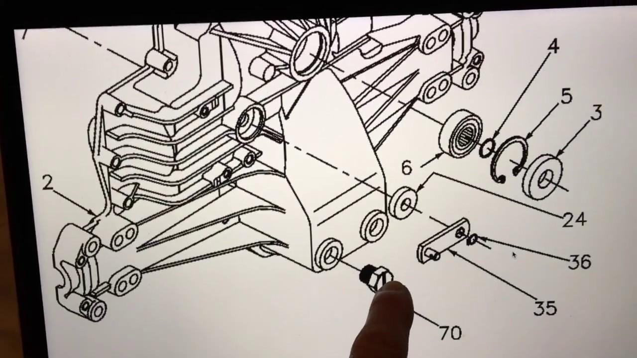 lawn tractor hydrostatic transaxle disengagement bypass actuator diagnosis part 1 [ 1280 x 720 Pixel ]