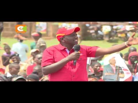 DP Ruto campaigns in Nakuru, Kakamega, Busia
