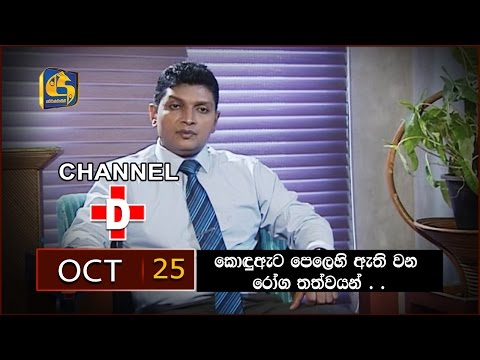 2016.10.25 - Channel D | Interview with Dr. Niroshan Jayarathna.