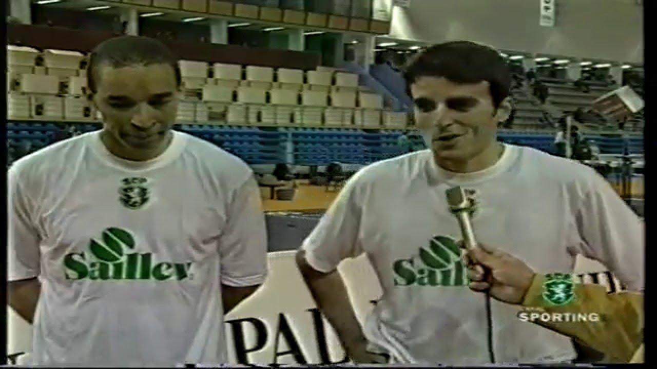 Atletismo :: Sporting vencedor dos Campeonatos Nacionais de Pista Coberta em 05/02/1999