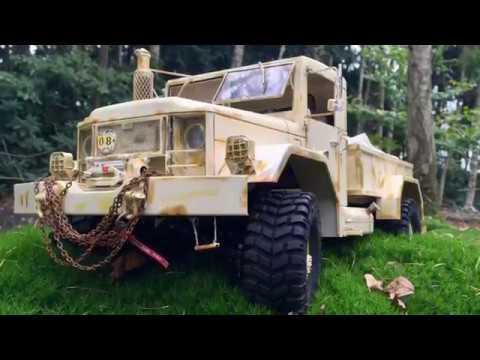 CUSTOM BUILD REO M 35 Bobbed Baubericht (CROSS RC Truck Kit HC4 in 1:10)