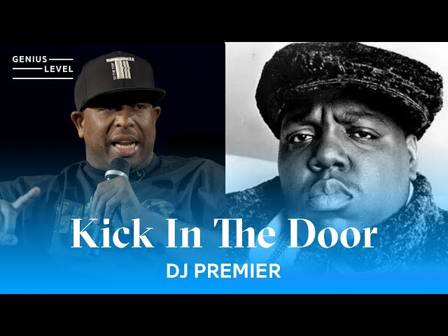 the notorious b i g kick in the door