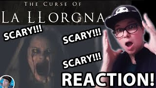The Curse of La Llorona Teaser Trailer #1 2019 SCARY MOVIE REACTION!!!