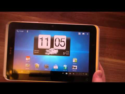 HTC Flyer mit Android 3.2 Honeycomb Test
