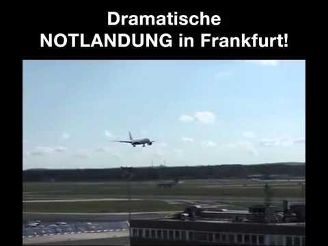 Notlandung Frankfurt