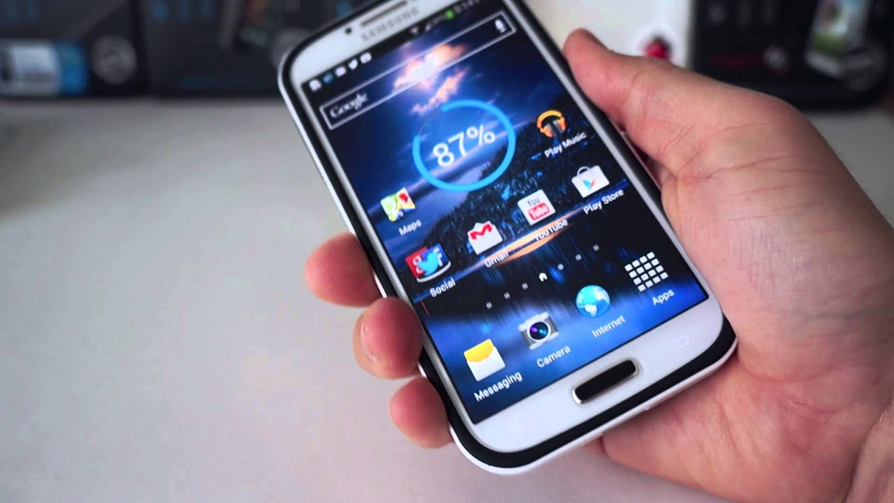 SPIGEN Neo Hybrid Case For Samsung Galaxy S 4 Review - YouTube