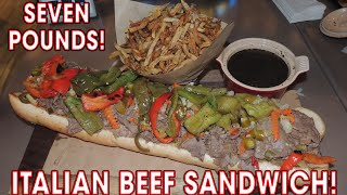 Ameristar's Chicago Italian Beef Combo Monster Sandwich Challenge!!