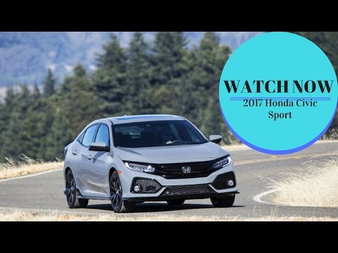 2017 Honda Civic Sport - A Sedan with a Garage Door in Back