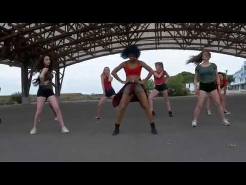 Konshens - Gal Ting // BERRYZ & YEMAYA dancehall choreo