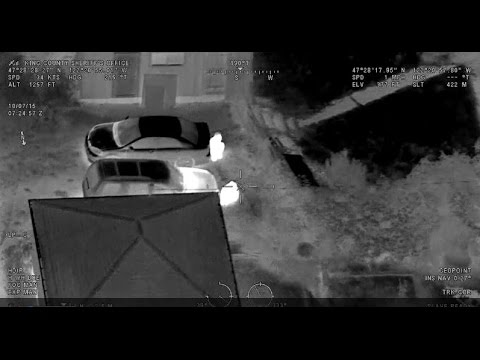 Sheriff Helicopter With FLIR Catches Car Thives