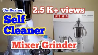 Self Cleaning Lid USHA Mixer Grinder MG2573