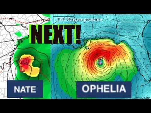 Future Tropical Storms & Hurricanes NATE* 48* hours & OPHELIA* 1* week