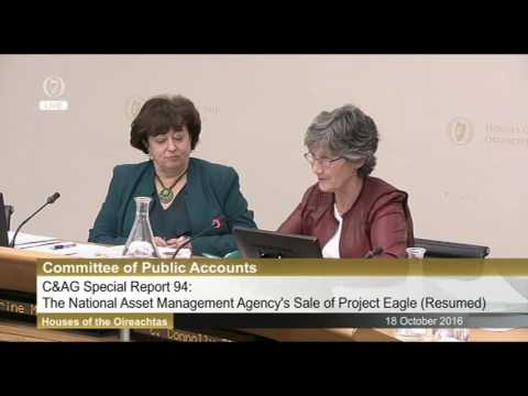 Nama at the Public accounts committee today.
