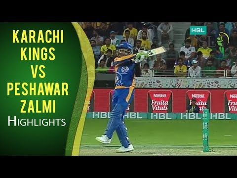 PSL 2017 Match 3: Karachi Kings v Peshawar Zalmi Highlights