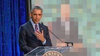 Barrack Obama reveals his new portrait