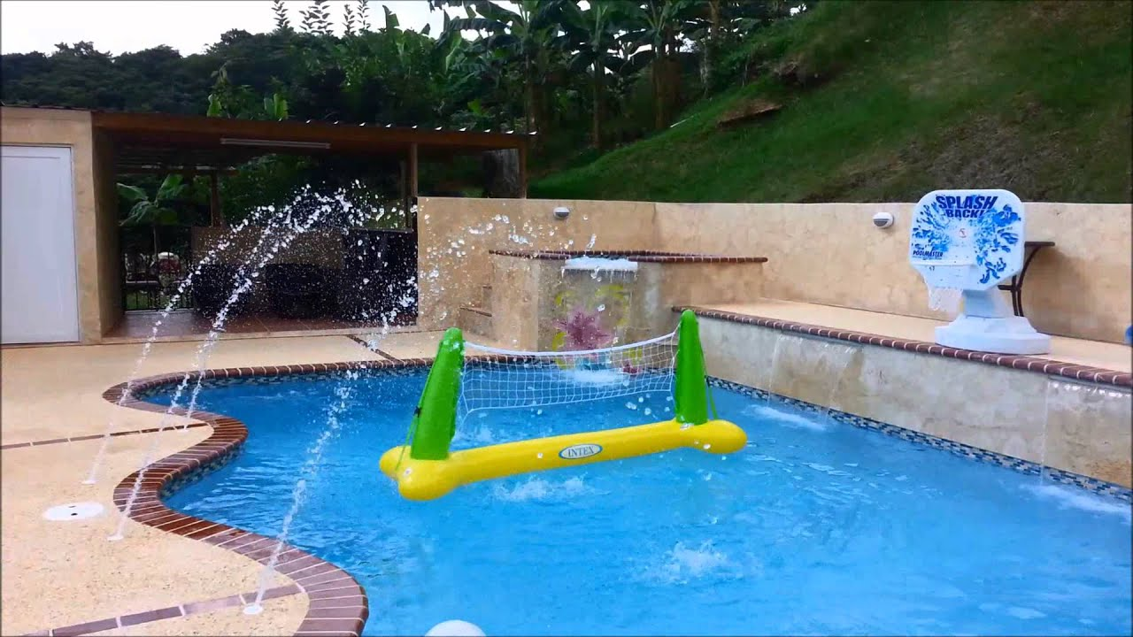 David pool puerto rico piscina youtube for Construccion de piscinas en santiago
