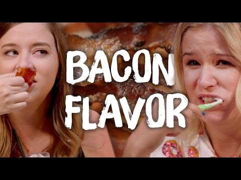 8 Strange Bacon Flavored Snacks (Cheat Day)