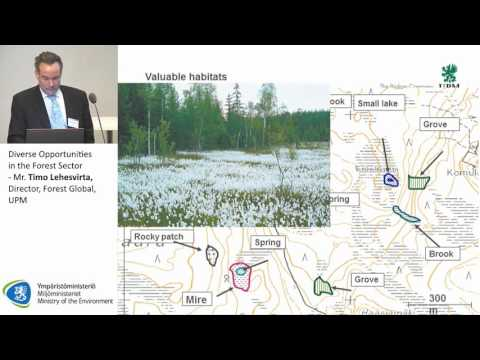 Diverse Opportunities in the Forest Sector - Mr. Timo Lehesvirta, Director, Forest Global, UPM