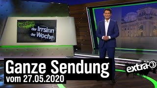 Extra 3 vom 27.05.2020 mit Christian Ehring | extra 3 | NDR