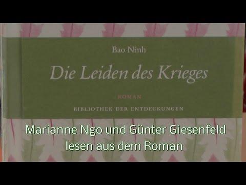 """""""Die Leiden des Krieges"""" Lesung aus dem Roman von Bao Ninh Cafe K 3.7.2016"""