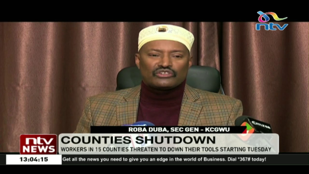 Workers in 15 counties threaten to down their tools due to delayed salaries