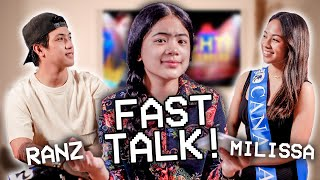 Hot Issue FAST TALK!! (Inlove?) | Ranz and Niana