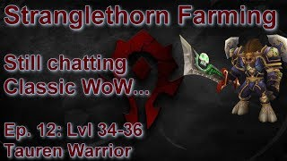 S06E12: Classic WoW Chat in Stranglethorn (Tauren Warrior) - Battle for Azeroth Playthrough